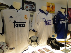 Camisas antigas do Real Madrid