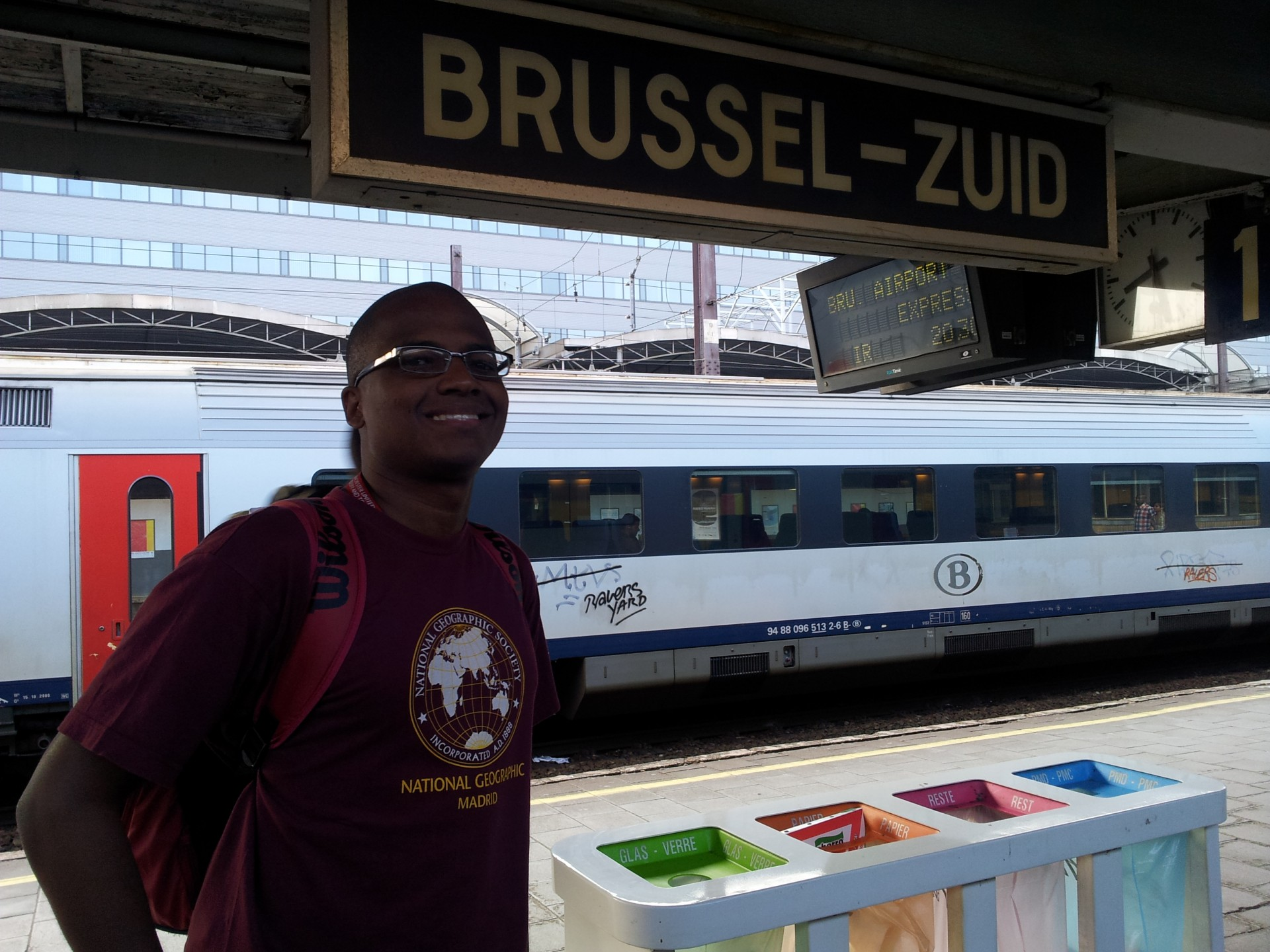 Estação Bruxelles-Midi ou Brussel-Zuid