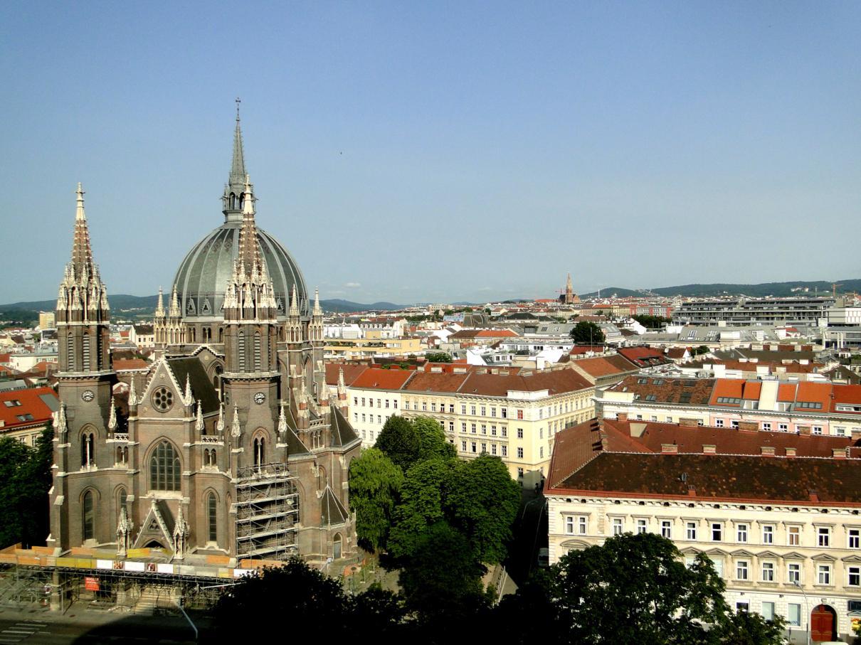 Viagem de trem de Praga pra Viena
