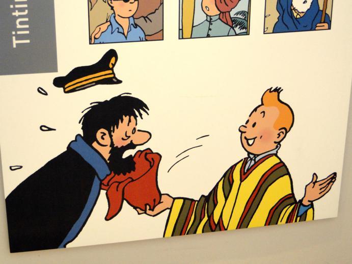 Bruxelas, cidade do Tintin