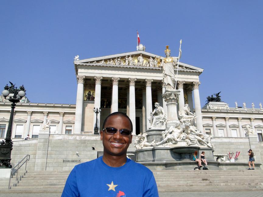 Primeiro dia em Viena