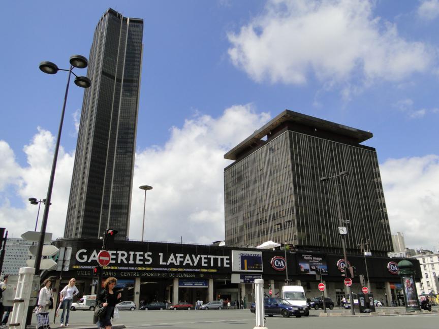 A vista da Torre de Montparnasse