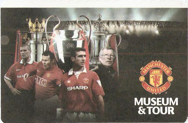 Bilhete Tour Manchester United