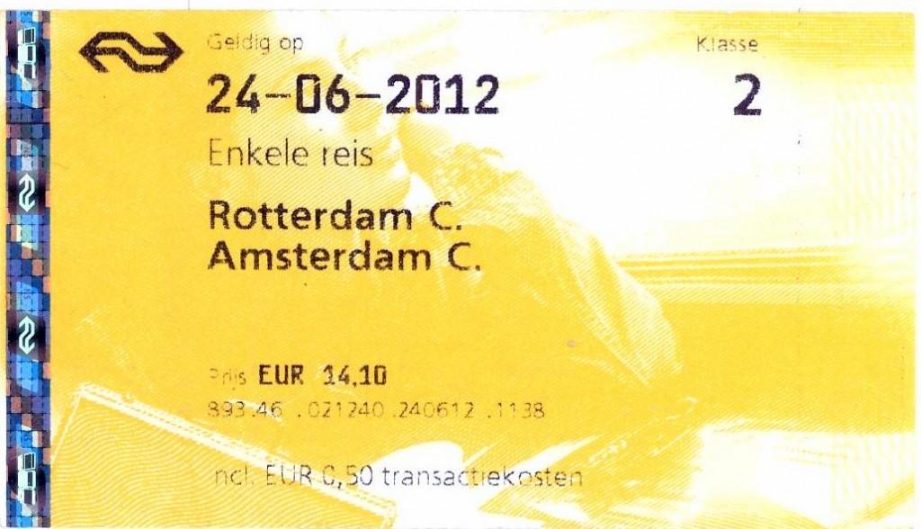 NS - Rotterdam pra Amsterdam