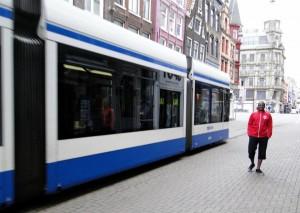 Tram Amsterdam 2012