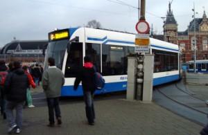 Tram Amsterdam Centraal