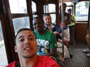 Voltando de Belém no Elétrico