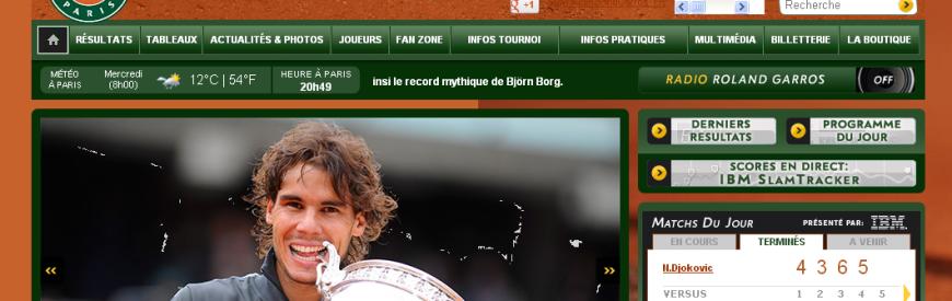 Roland-Garros – Torneio e Tour guiado