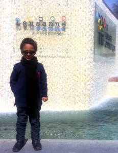 Lucca no Museu Olímpico de Lausanne