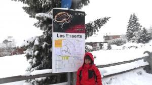 Les Esserts: Hora de brincar com neve!