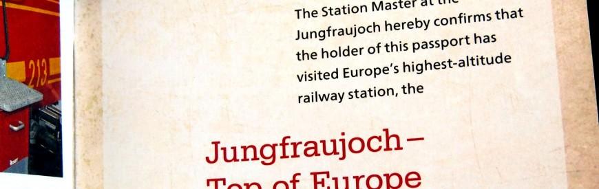 Jungfraujoch – Top of Europe – Parte 1