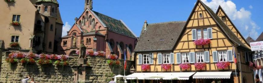 Eguisheim – o vilarejo preferido dos franceses