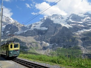 descendo o Jungfraujoch