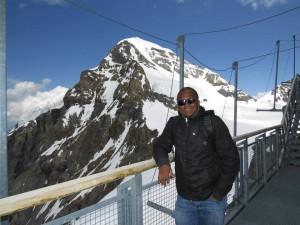 Eu e o topo do Mönch