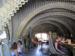 Bar do museu H.R. Giger