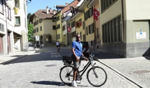 Na bike do Michael, na Gerberngasse