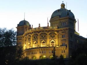 Bundeshaus, sede do governo suíço em Berna