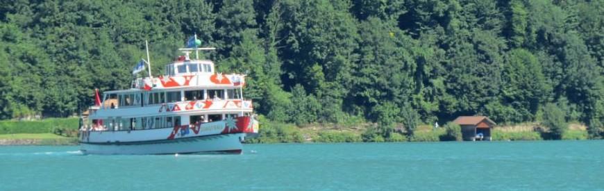 Passeio de barco pelo Lago Brienz