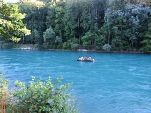 Rio Aare em Elfenau