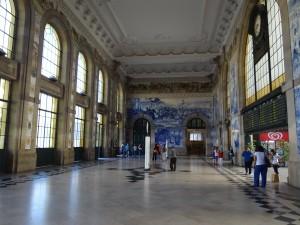 Estação São Bento - Interior em Azulejo