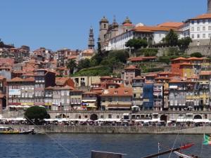 Ribeira do Porto vista de Vila Nova de Gaia