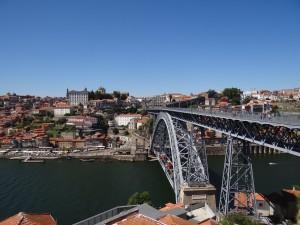 Ponte Dom Luis vista do alto