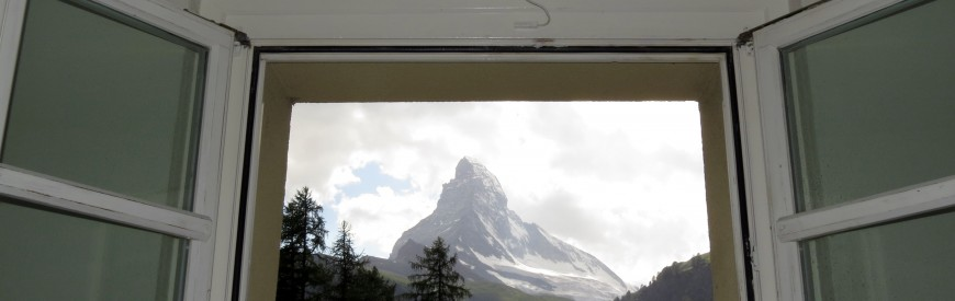 Zermatt: Chegando na cidade do Toblerone