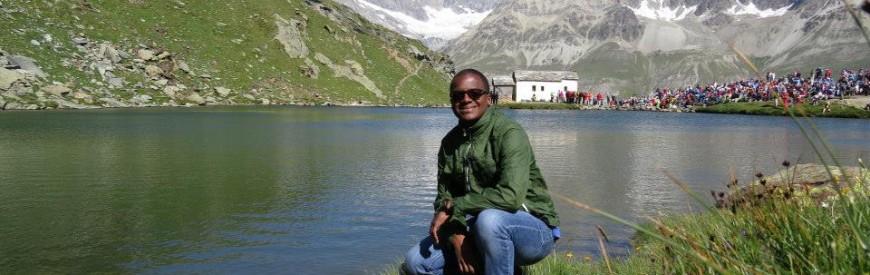Lago Schwarzsee em Zermatt