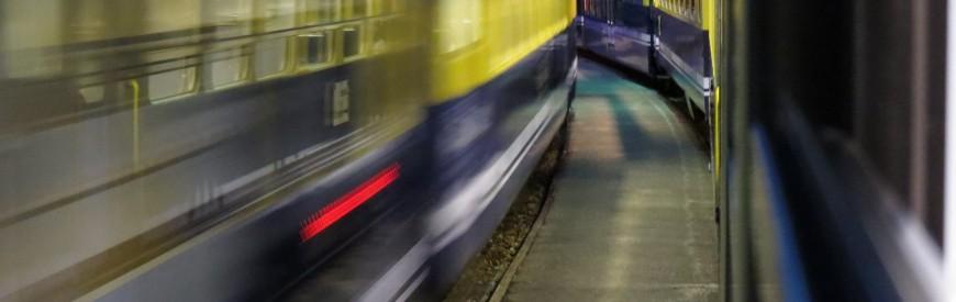 Nos trilhos com a Berner Oberland Bahn