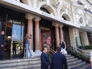 Entrada do Casino Montecarlo