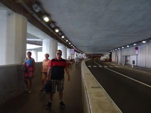 Túnel Louis II em Mônaco