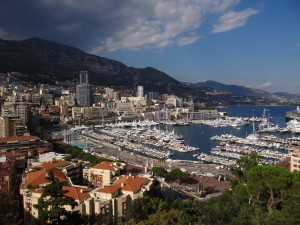 Monaco-Ville vista do alto
