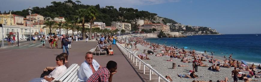 Nice, a pequena grande cidade da Côte D'Azur