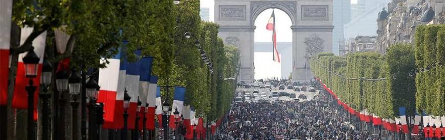Wi-Fi gratuito na Champs-Elysées