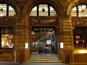 O clássico Hotel e Restaurante The Scotsman
