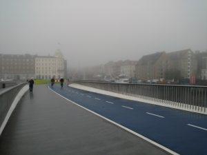 Inderhavnsbroen - A ponte para bicicletas