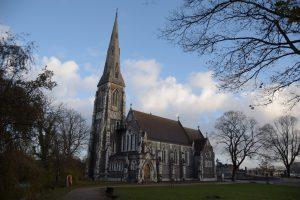 Igreja Anglicana de estilo neo-gótico
