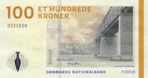 Nota de 100 coroas dinamarquesas