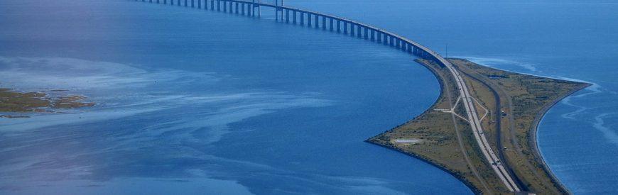 Da Suécia à Dinamarca pela Ligação de Øresund