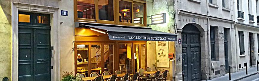 Le Grenier de Notre Dame – O primeiro restaurante vegetariano de Paris